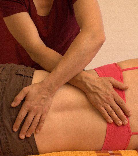 Behandlung bei Rückenschmerzen